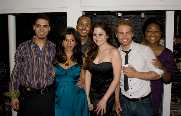 The cast of TALES FROM THE TUNNEL: Wilson Jermaine Heredia, Farah Bala, Brandon Jones, Carla Corvo, Vayu O'Donnell, Geri Brown