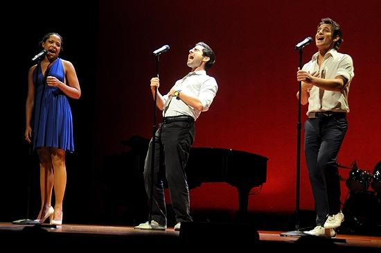 Lili Cooper, Adam Kantor & Frankie James Grande Photo