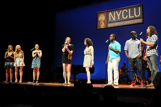 Photo Coverage: Baldwin, Luker, Rapp et al. in 'Broadway Stands Up for Freedom' Concert