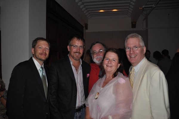 Tyler Marchant, Producer Robert Stillman, Mark St. Germain, Producer Carolyn Rossi Copeland, Producer Jack Thomas