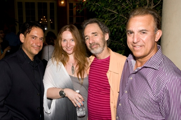 Eugene Pack, Judith Owen, Harry Shear, and Jay Thomas