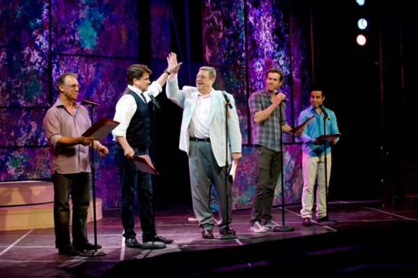 Jay Thomas, Bryan Batt, John Goodman, Ryan Reynolds, Mario Cantone at Coolidge, Cantone, et al. Lead CELEBRITY AUTOBIOGRAPHY in New Orleans!