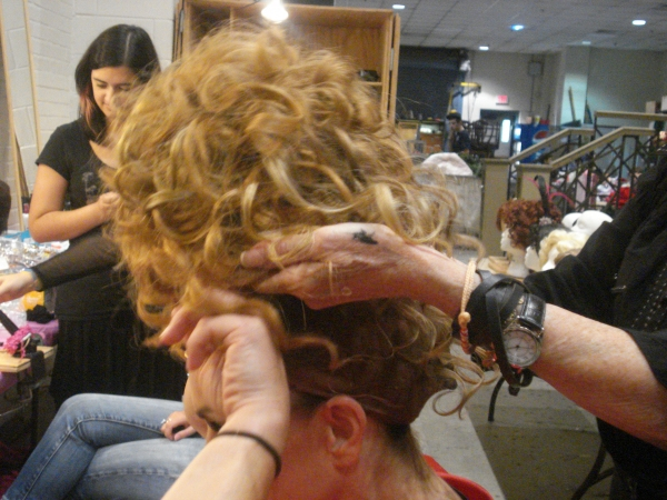 Photo Coverage: Andrea McArdle Transforms into Miss Hannigan