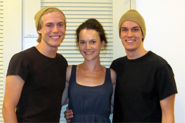 Zachary Booth, Natalia Payne, Preston Sadleir