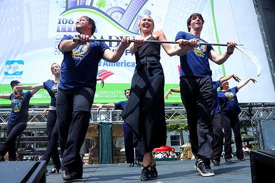 Photo Coverage: WICKED, NORMAL, ADDAMS & LION KING Play Broadway In Bryant Park