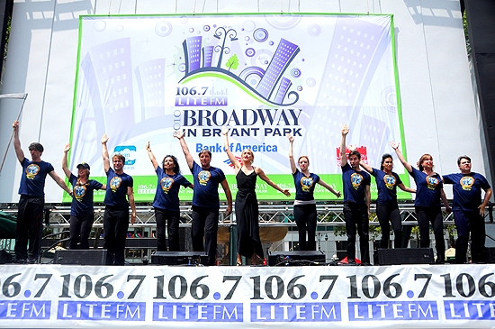 Photos: WICKED, NORMAL, ADDAMS & LION KING Play Broadway In Bryant Park