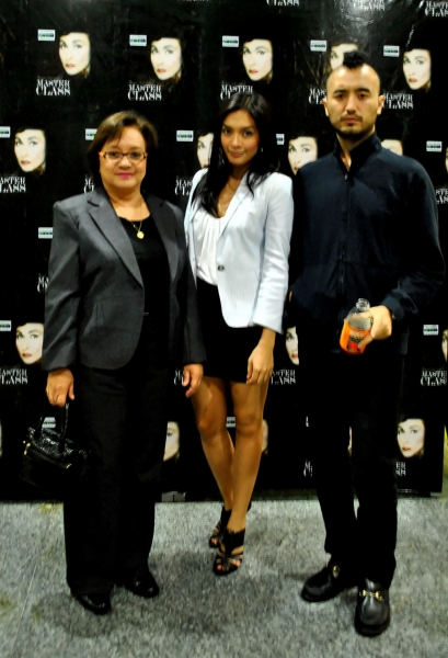 television and film director Laurice Guillen, Ina Feleo and Rhap Fernandez