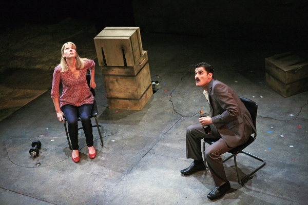 Jemma Redgrave and Daniel Rabin at THE GREAT GAME: AFGHANISTAN At Tricycle Theatre