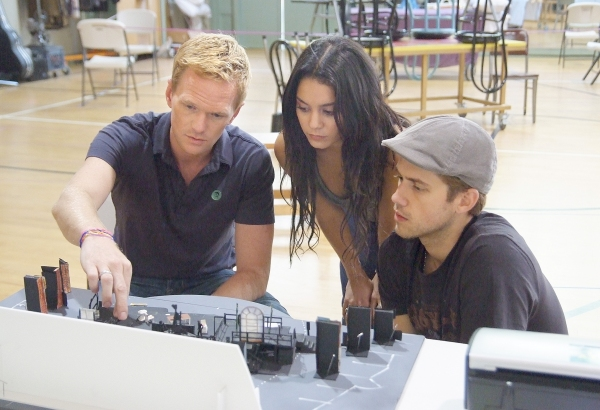 Photo Flash: First Shots of RENT in Rehearsal for the Hollywood Bowl!
