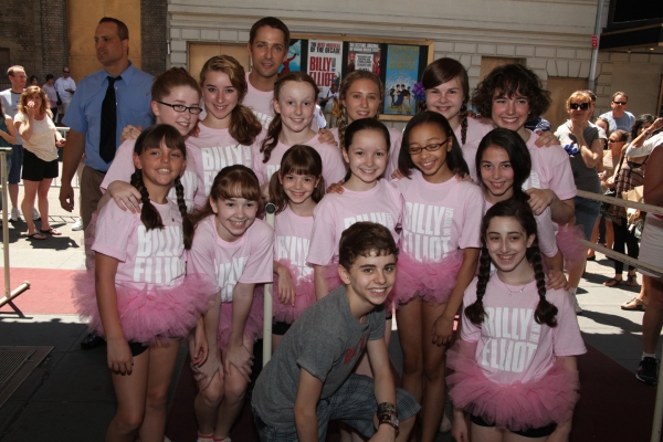 Michael Dameski, Jeff Edwards and the Ballet Girls