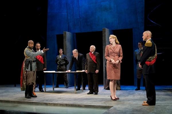 Seth Gilliam (Othello), Arthur Barlas (Senator), Brandon Drea (Ensemble), Fred Sulliv Photo
