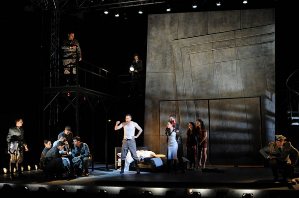 Phillipe Bowgen (Ensemble), Brandon Drea (Ensemble), Max Schadler (Ensemble), Dan Roa Photo
