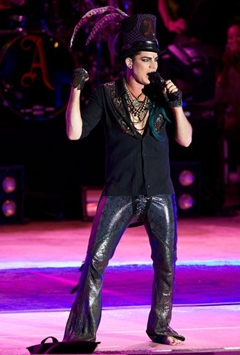 Photo Coverage: Adam Lambert performs at Mandalay Beach
