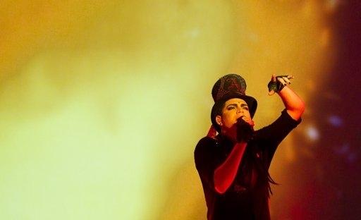 Photo Coverage: Adam Lambert performs at Mandalay Beach