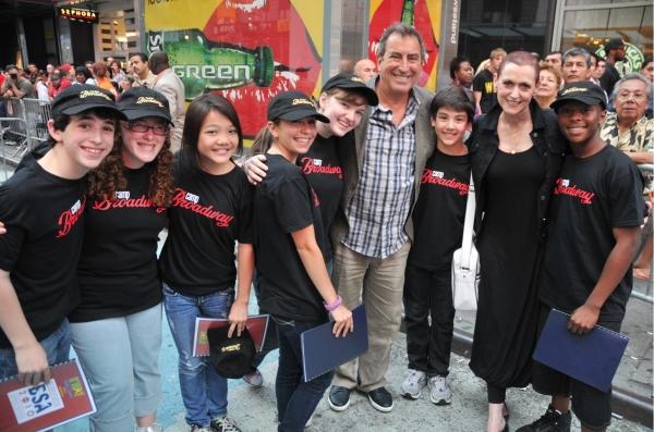 Broadway Kids Care with Kenny Ortega and Kelly Gonda Photo