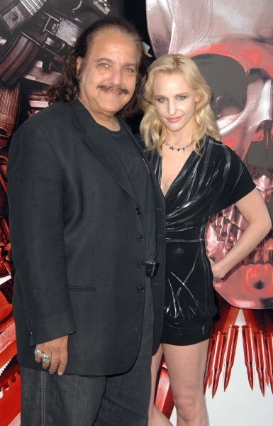 Ron Jeremy (L) and guest