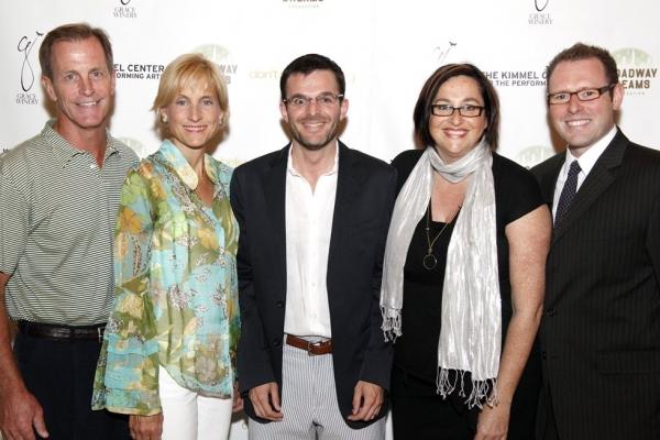 Chris JeVine, Vicky LeVine, Jeff Becherer, Annette Tanner and Matt Wolf Photo