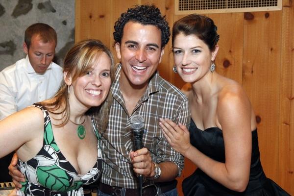 Rachel Hoffman, Carlos Encinias and Nicole Parker