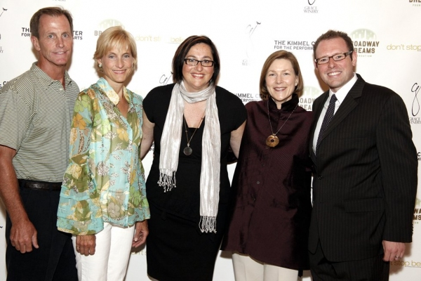 Chris LeVine, Vicky LeVine, Annette Tanner, Ann Ewes, and Matt Wolf Photo