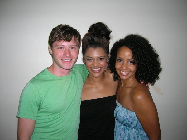 Bobby Steggert, Sasha Sloan, and Stephanie Umoh
