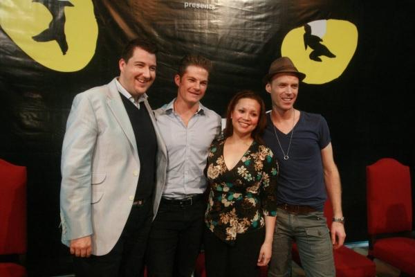 John Ellis, Shaun Rennie, Lea Salonga, John O' Hara Photo
