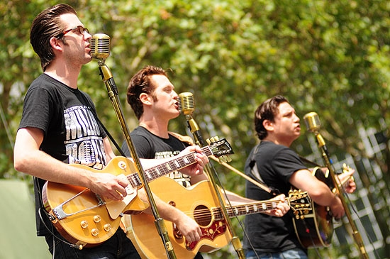 Rob Lyons, Erik Hayden & Christopher Ryan Grant (Million Dollar Quartet)