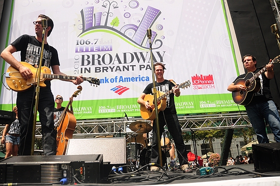 Rob Lyons, Erik Hayden & Christopher Ryan Grant (Million Dollar Quartet)