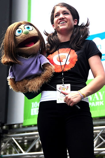 Photo Coverage: QUARTET, FELA!, AVENUE Q & More Play Broadway in Bryant Park!