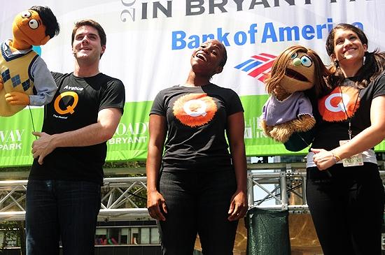 Seth Rettberg, Jasmin Walker & & Sarah Stiles (Avenue Q) Photo