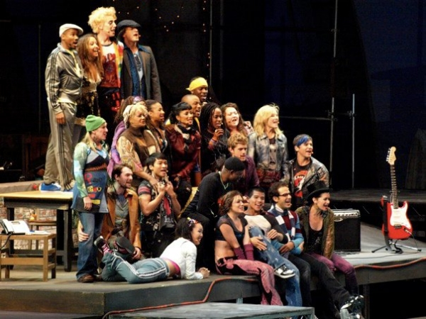 The Cast of RENT at the Hollywood Bowl!