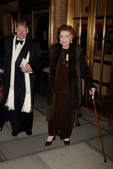 Patricia Neal Attends the Opening of DOUBT March 31, 2005