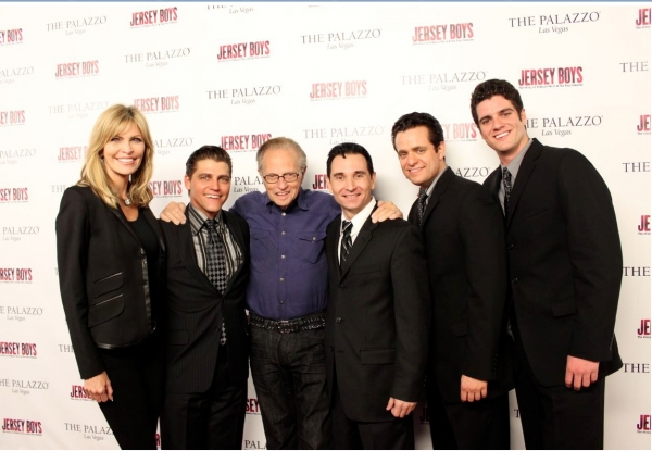 Shawn King, Deven May, Larry King, Travis Cloer, Colin Trahan and Peter Saide