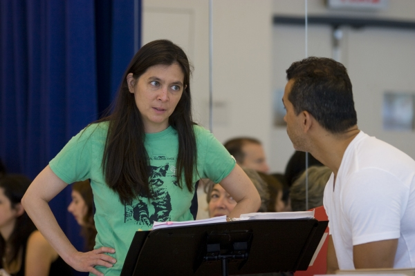 Photo Flash: The Capeman Concert in Rehearsal