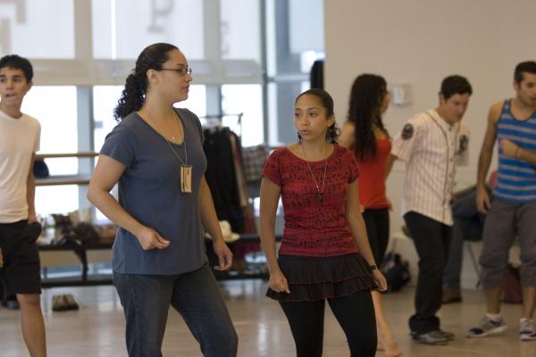 Myrna Lynn Gomila (Nun/Carmen/Cookie) and Elan Luz Rivera (Nun/Bernadette)
