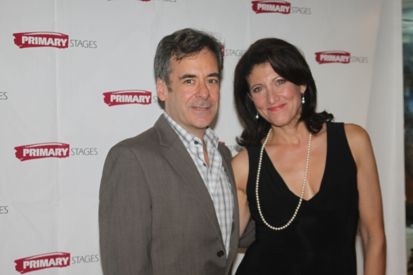 Mark Nelson and Amy Aquino at Primary Stages Opens SECRETS OF THE TRADE