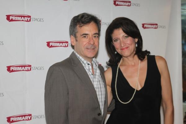 Mark Nelson and Amy Aquino