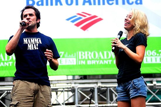 Corey Greenan & Alyse Alan Louis ( Mama Mia )