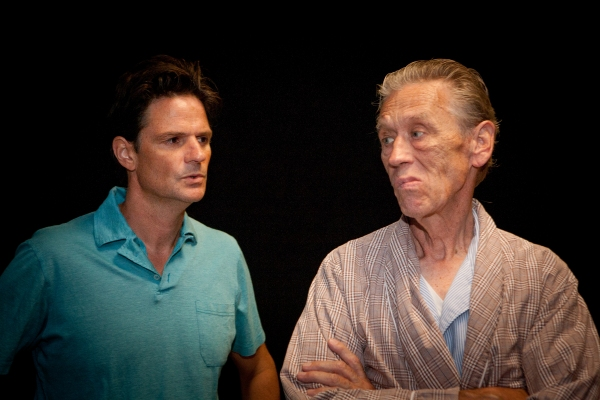 John Allore and John Murphy at MI VIDA LOCA At Deep Dish Theater