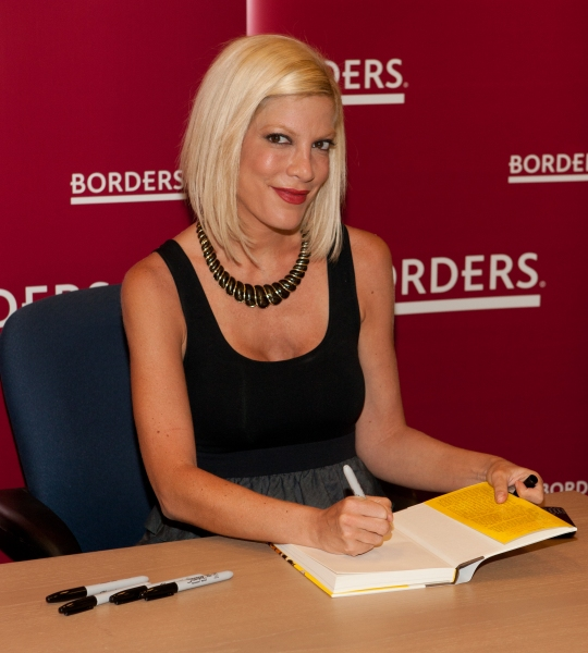 3 at Tori Spelling Promotes New Book