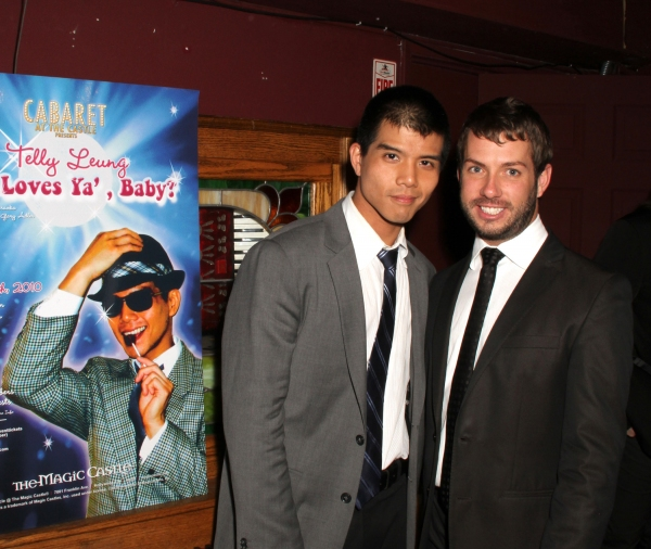Telly Leung and Matt Patton
