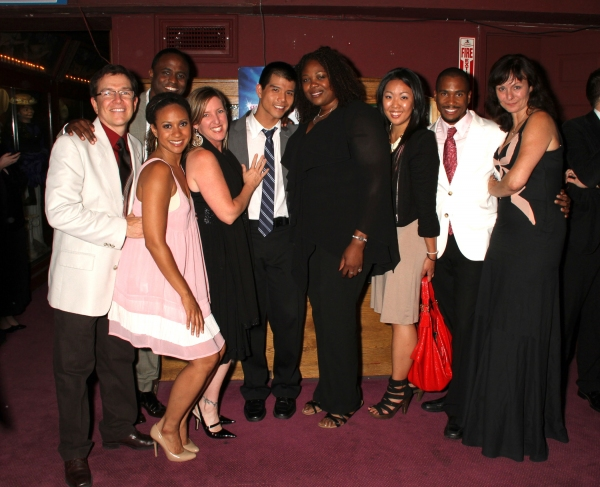 Michael Donovan (Casting director for RENT at the Hollywood Bowl), Wayne Brady, Tracie Thoms, Tricia Kelly (RENT/Bowl), Telly Leung, Gwen Stewart, Miri Park (RENT/Bowl), Eric B. Anthony (RENT/Bowl), Angela Wendt (Costume Designer for the orig. Broadway pr