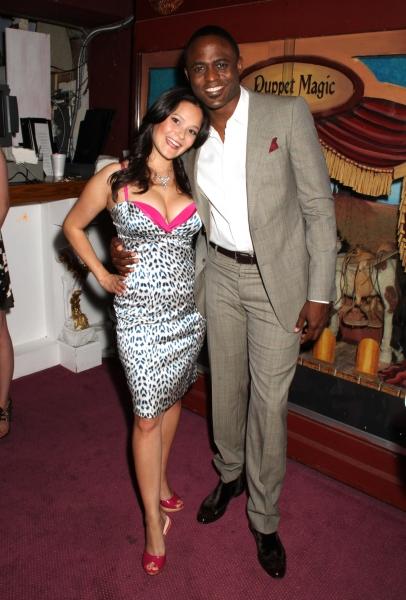 Romi Dame and Wayne Brady