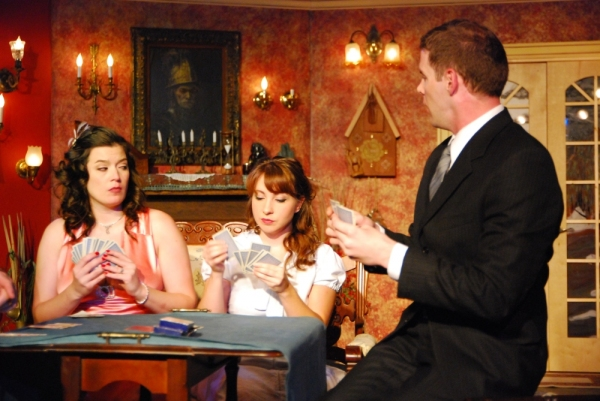 Meredith Bell Alvarez, Katie Genualdi, and John Blick Photo