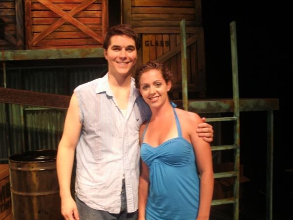 Justin Berkobien and Samantha Driver Photo