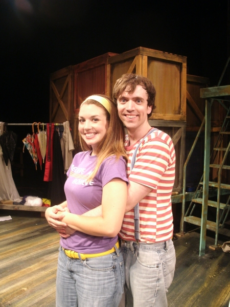 Amy Steele and Greg Foster at Provision Theater Co Presents GODSPELL