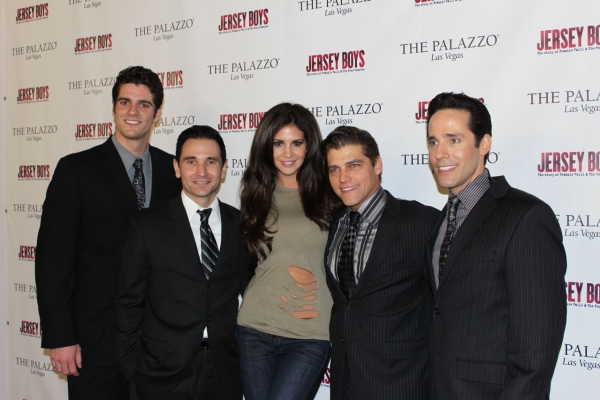 Photo Flash: 2010 Playboy Playmate of the Year Attends Jersey Boys at The Palazzo
