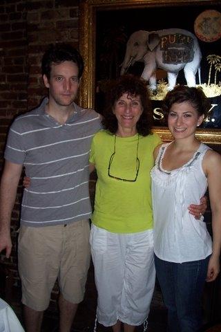 John Pollono, Geraldine Librandi and Dana Domenick. Photo