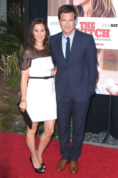 Jason Bateman and wife Amanda Anka at 'Switch' Premieres in LA