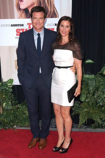 Jason Bateman and wife Amanda Anka
