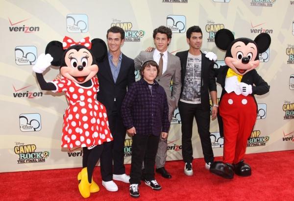 Frankie Jonas, Kevin Jonas, Nick Jonas and Joe Jonas